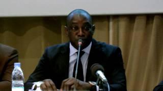 Atoojob Senegal Prise de Parole du Président de Séance