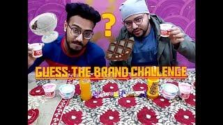 Guess The Brand Challenge  Food Challenge  Healthy Food Challenge 