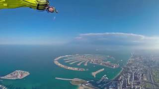 Wingsuit, South to North, 360 Video