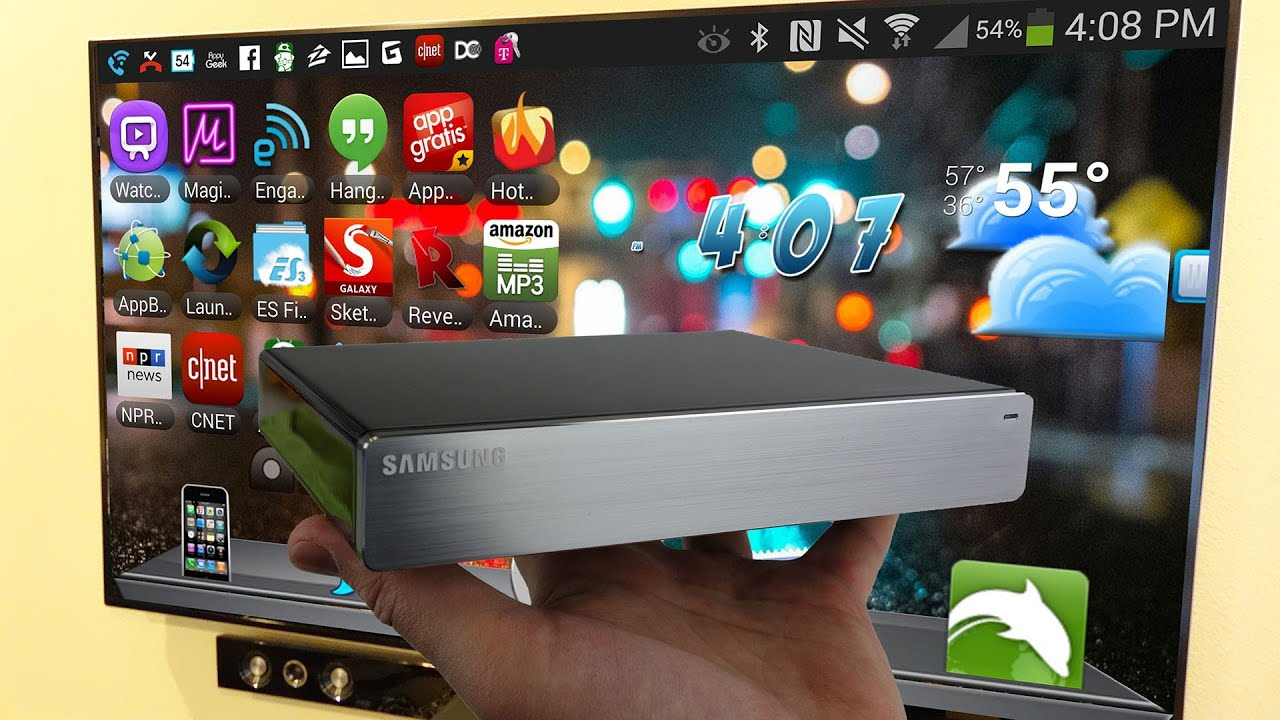 Samsung Homesync Android Media Player Review - YouTube