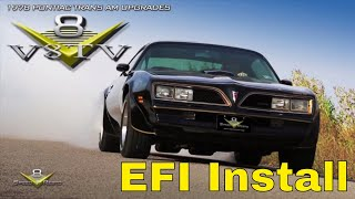 1978 Pontiac Trans Am FAST EZ EFI Fuel Injection Overdrive Engine Upgrades V8TV V8 Speed & Resto