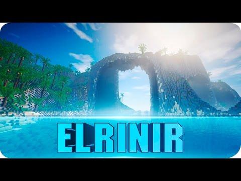 Minecraft - Elrinir Island - Custom Island Terrain Map Cinematics W/ Download