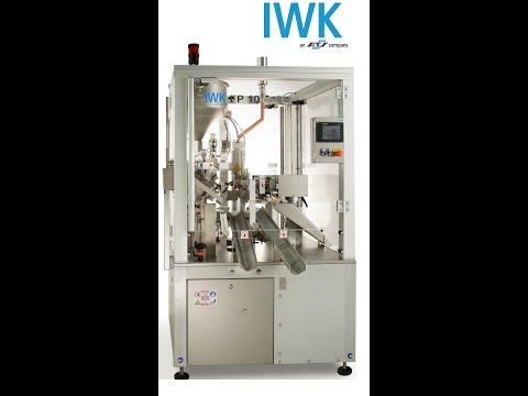 IWK - A true bestseller - FP10 tube filling machine