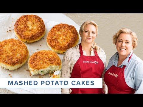 How To Make The Best Mashed Potato Cakes From Scratch