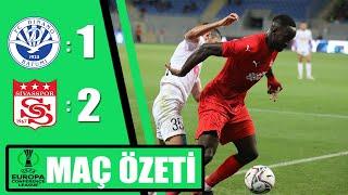 Dinamo Batumi 1-2 Sivasspor Özet Uefa Avrupa Konferans Ligi