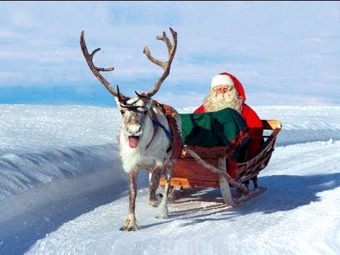 Papai Noel / Pai Natal & Segredos das renas - Lapônia na Finlândia - Círculo Ártico em Rovaniemi