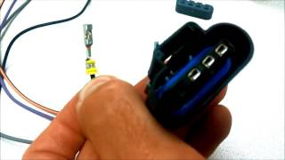 Removing a terminal from a connector