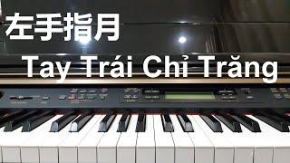 Hướng dẫn 左手指月 - TAY TRÁI CHỈ TRĂNG | Piano cover | Đinh Công Tú