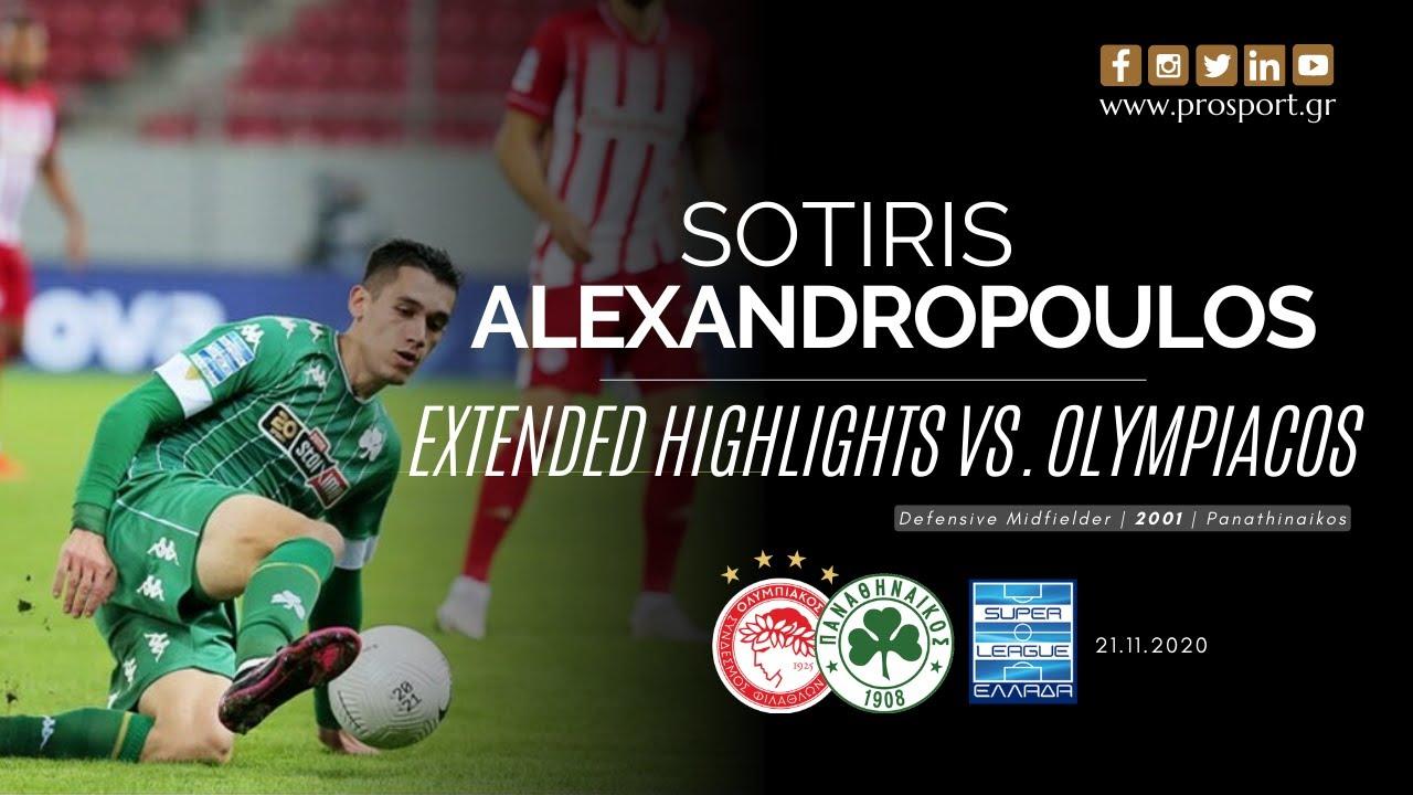 Impressive Alexandropoulos vs. Olympiacos