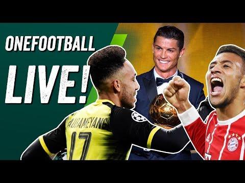Onefootball Live - Europapokal-Roundup und alles zum Ballon d'Or 2017