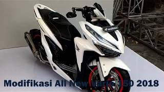 Modifikasi All New Honda Vario 150 2018