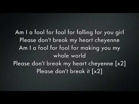 Cheyenne - Greyson Chance (lyrics)