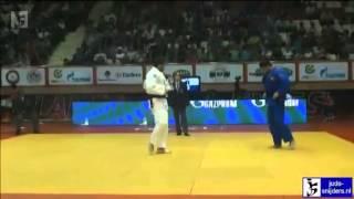 Ramin Gurbanov (AZE) - Sahin Tursak (TUR) Judo 2012 Grand B