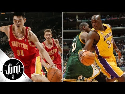 Shaquille O'Neal, Yao Ming and the best crossovers by big men ever | The Jump