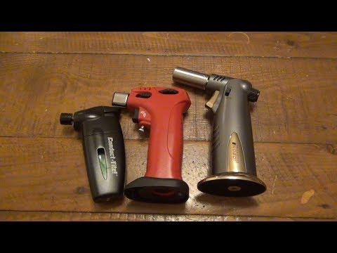 Large Torch Lighters...Do You Use Them?