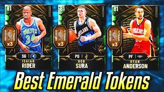 TOP 5 EMERALD TOKEN REWARDS THAT YOU NEED TO BUY IN NBA 2K20 MyTEAM!!