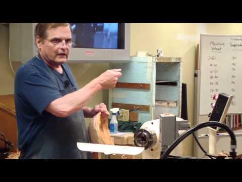 WGNC demo: Steve Driggers on drying wood