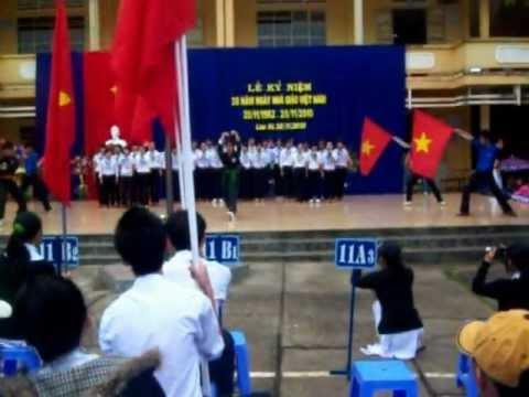 Dòng máu lạc hồng - THPT Lâm Hà. 2010. http://A3lamha.forumvi.com