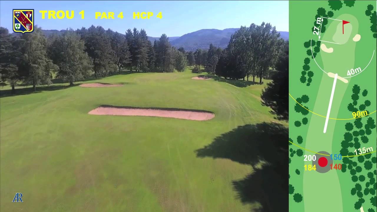 Vidéo du trou numéro 1 | Golf La Barouge Mazamet
