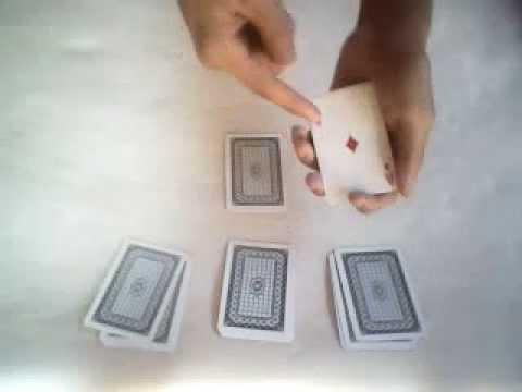 Hướng dẫn ảo thuật 4 Lá Ace của Paul