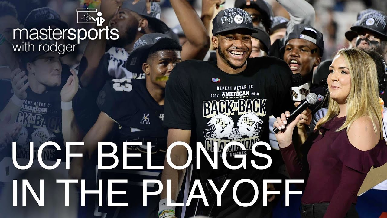 ucf should be in the college football playoff mastersports with