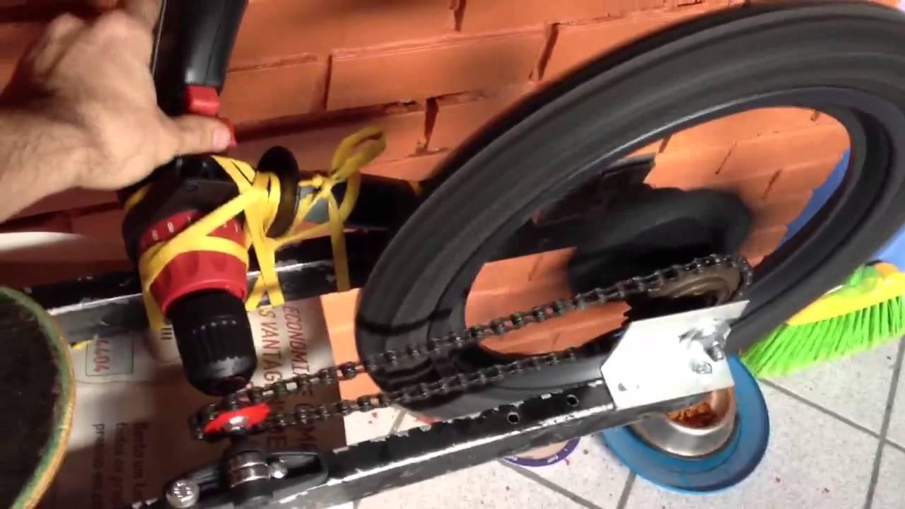 drill powered trike skateboard  u0026quot mockup u0026quot