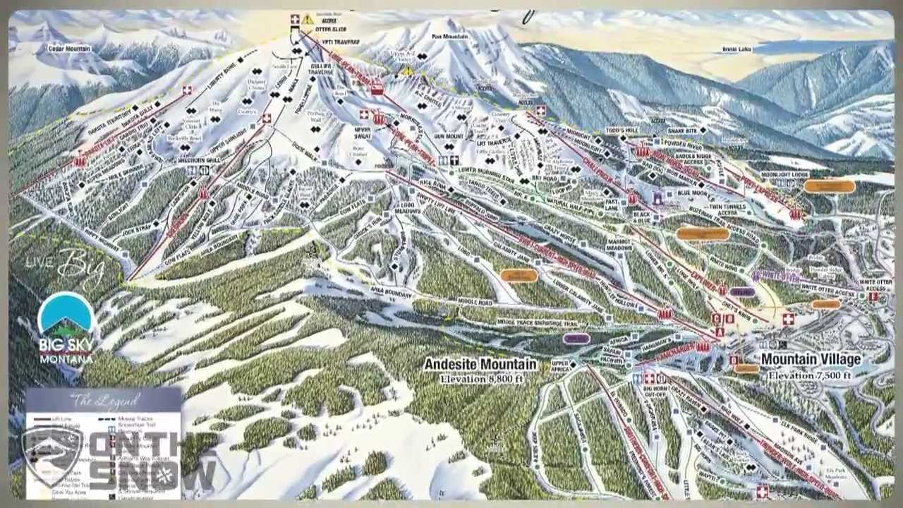 Big Sky Ski Resort Video Preview Youtube