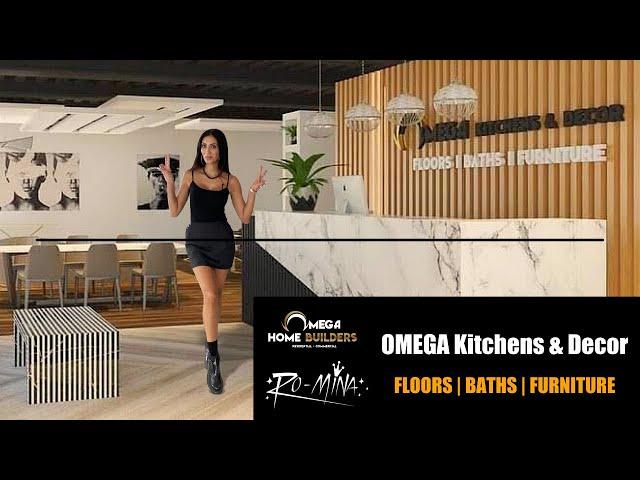 Omega Home Builders ~ RO-MiNA - Ridge Pointe Kitchen & Decor Showroom