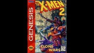 X-Men 2: Clone Wars Прохождение (Sega Rus)