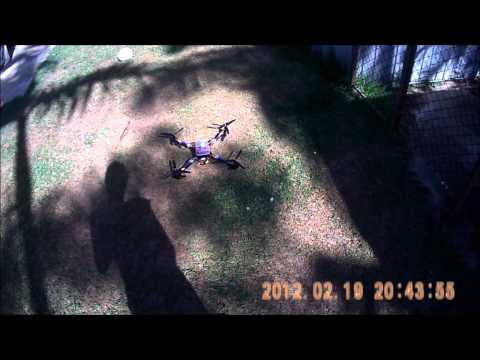 GLB X525 V3 QuadCopter Flight 4: MultiWii PRO Flight Controller