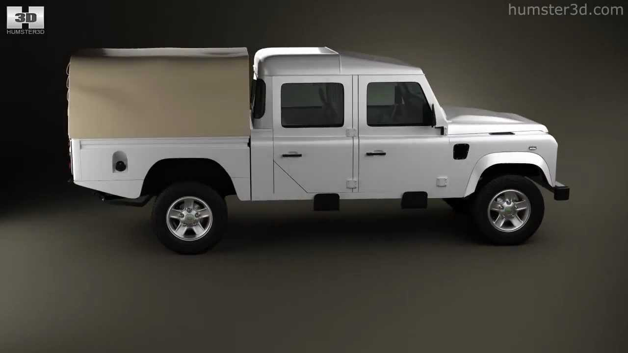 Land Rover Defender 130 High Capacity Double Cab Pickup By