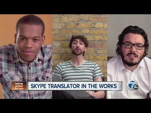Skype Translator in the works