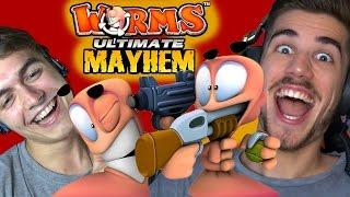 Worms Mayhem - GoGo VS Smusa