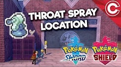 Where to Find the Throat Spray in Pokemon Sword and Shield
