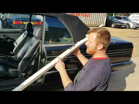 Bmp carbon Bmw e30 tech one convertible side skirts in fiberglass