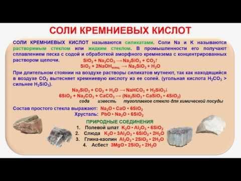 Химия цемента