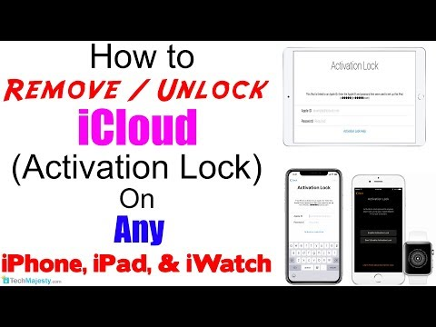 Remove / Unlock ICloud Activation Lock On Any IPhone, IPad, Apple Watch - Without Apple ID 100%