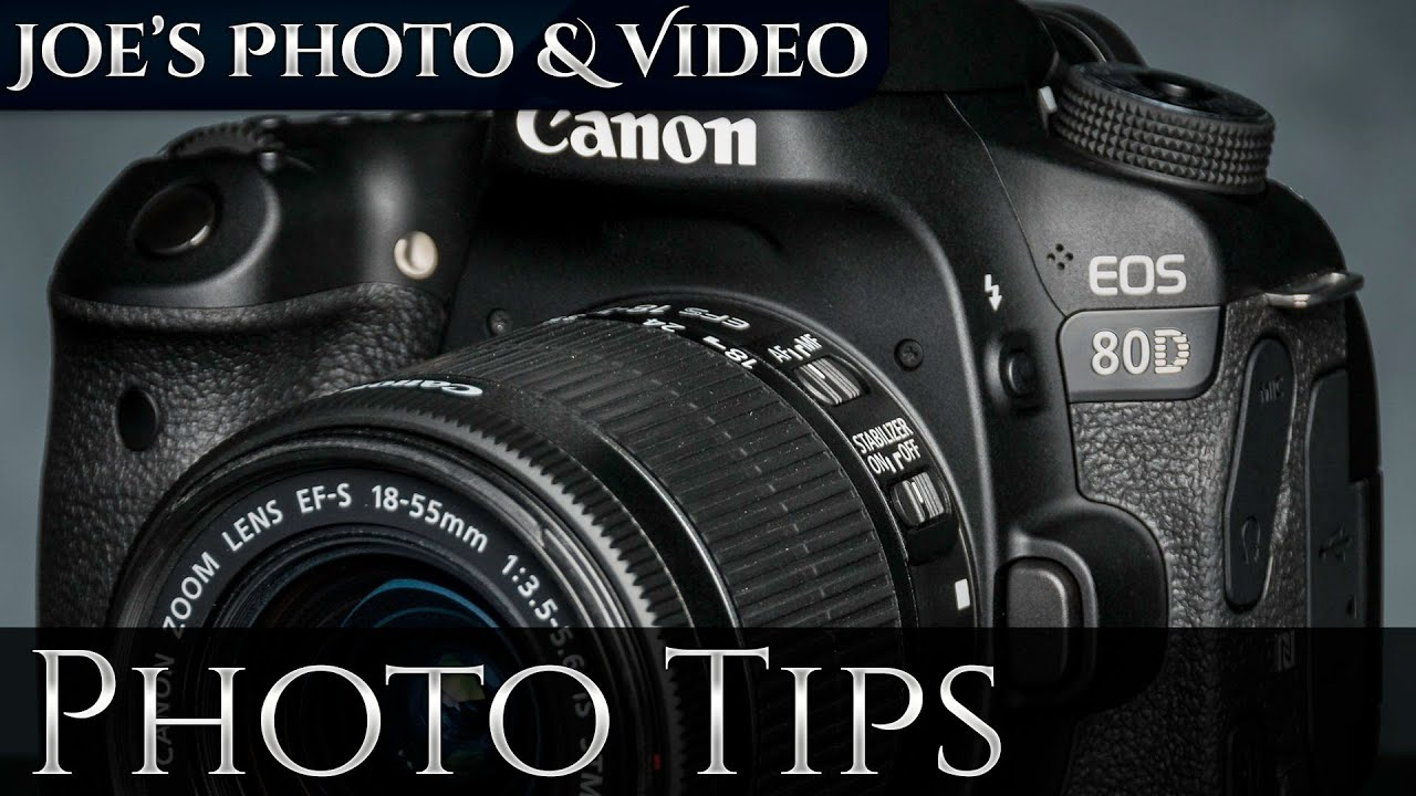 Canon EOS 80D How To Set Auto ISO Limits & Minimum Shutter Speed