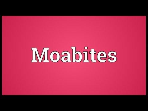 Moabites Meaning