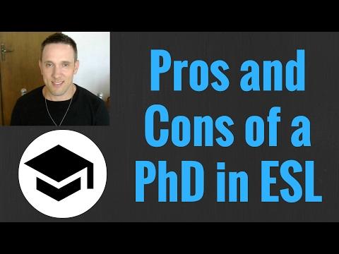 Is it Worth Getting a PhD in TESOL | Applied Linguistics | Teaching ESL
