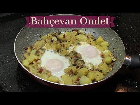 Bahçevan Omlet - Naciye Kesici - Kahvaltılık Tarifler