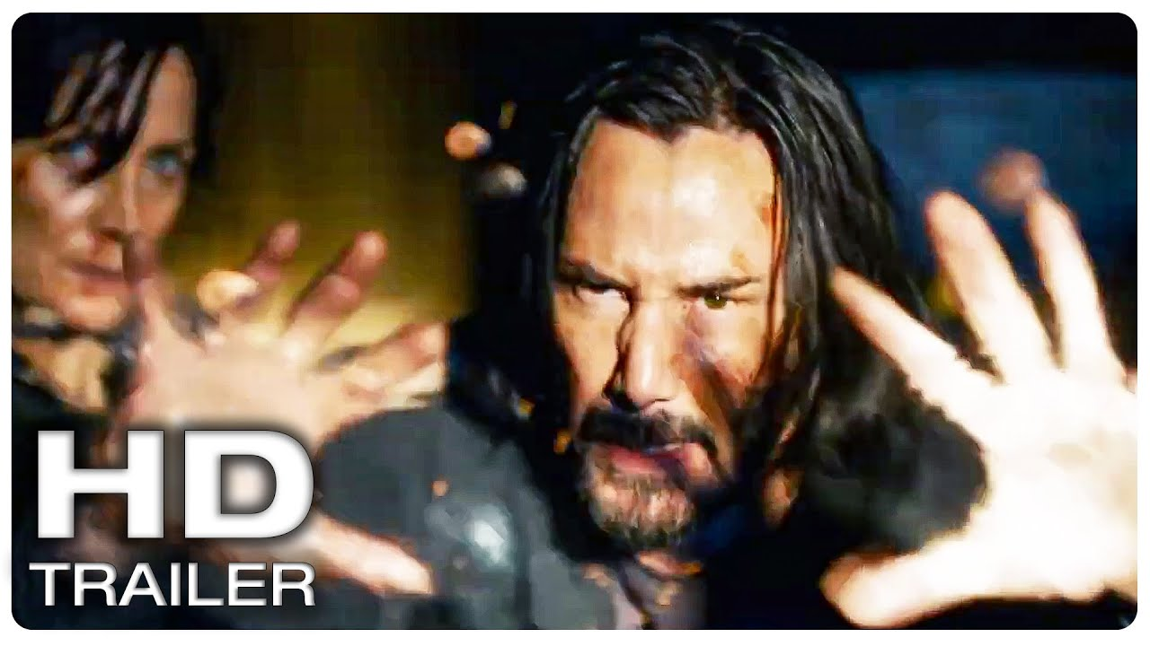 Download THE MATRIX 4 RESURRECTIONS Official Trailer #1 (NEW 2021) Keanu Reeves Action Movie HD