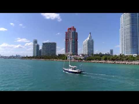 3 Story Portofino Towers Penthouse in Miami Beach, Florida