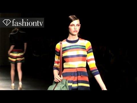 Jaeger Runway Show - London Fashion Week Spring 2012 | FashionTV - FTV