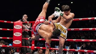 MUAY THAI: 3 Saenchai Cartwheel Kick Combinations | Evolve University