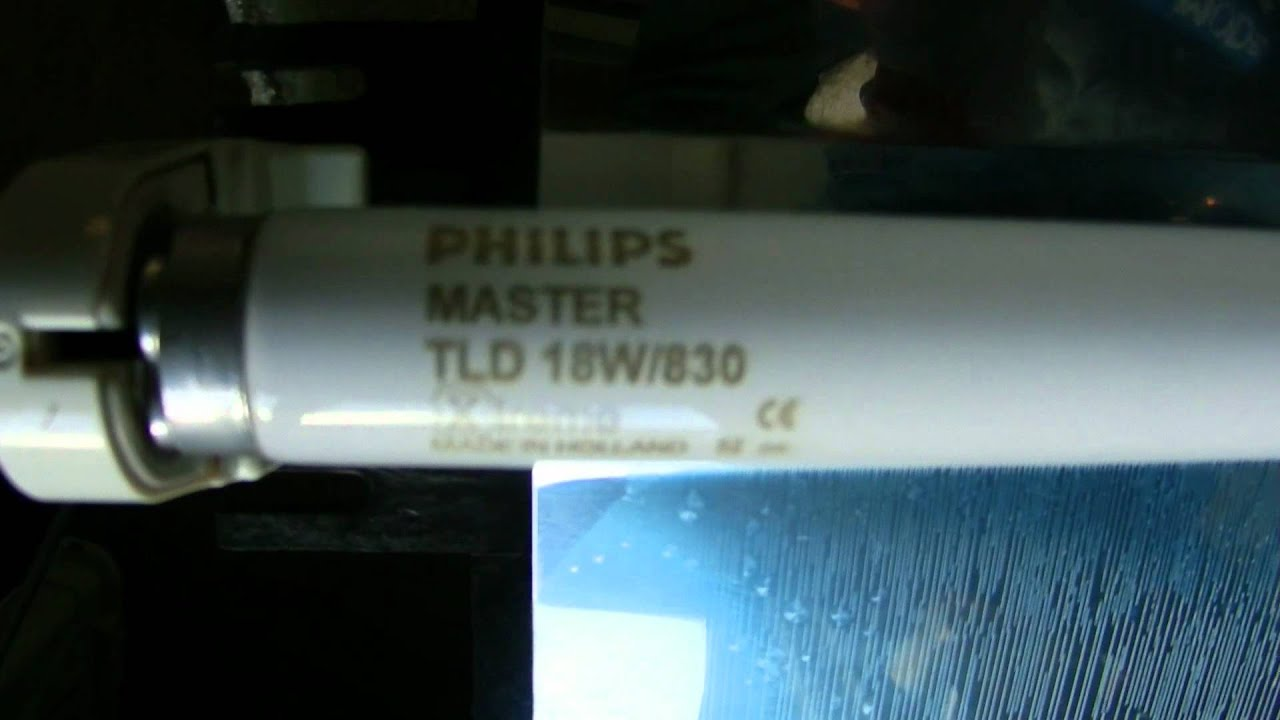 Pack of 10 Philips 4ft 36w 4000k cool white Reflex T8 florescent tube