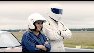 Top Gear - BTS - Jennifer Saunders and Paul Hollywood In a Rallycross Car