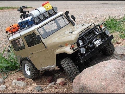 Tamiya Fj40 Modified Suspension 55t Motor Youtube