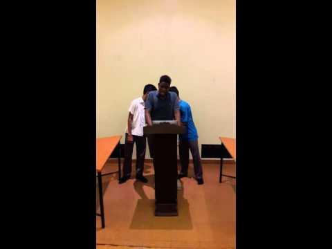 Street children Speech Shawn Ngeti