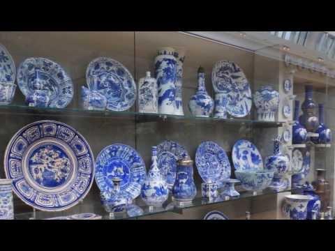 Victoria & Albert Museum Ceramics Gallery London August 2013